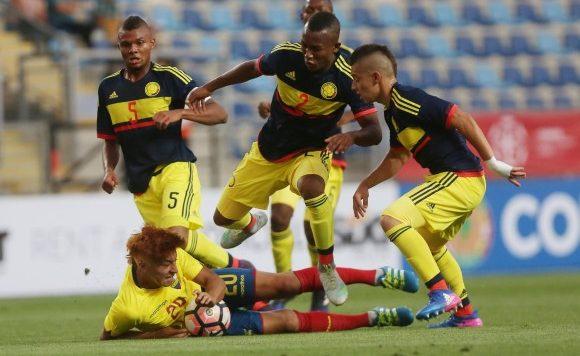 sub-17 de Colombia, Colombia, futbol colombiano. final del suramericano