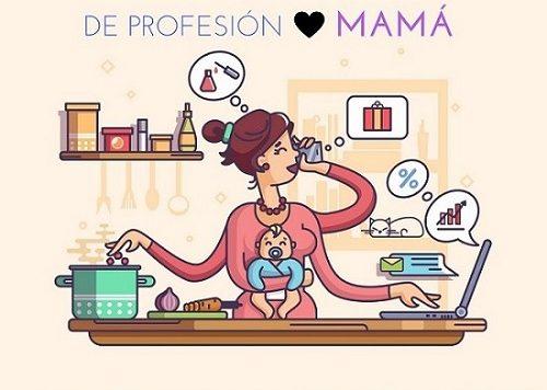 Ella puede tener diferentes profesiones, pero sin duda por la que ganaría un premio es por ser la mejor mamá