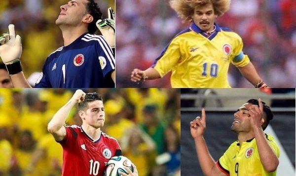 Futbolistas que nos hacen sentir orgullosos de ser colombianos