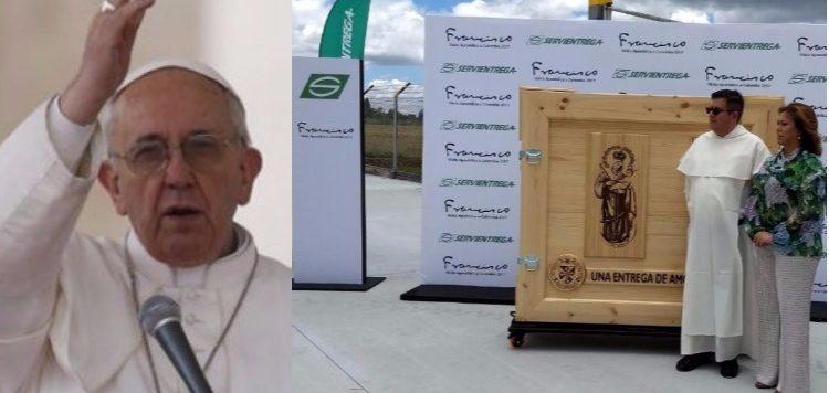 Gracias a ellos el Papa estará feliz en Colombia, ¡colombianos comprometidos!