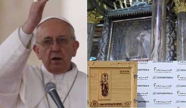 ¿Por qué la virgen de Chiquinquirá es tan importante para el Papa? 6 secretos que no sabías