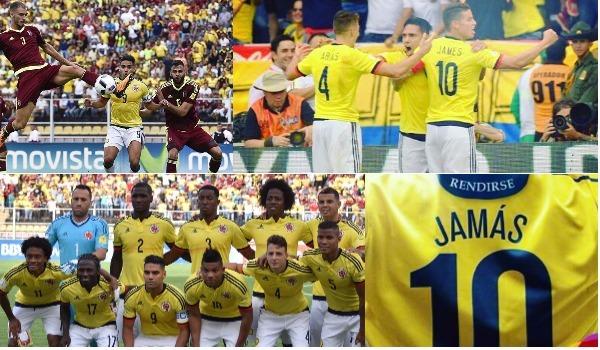 Los partidos más difíciles que ha enfrentado Colombia en la eliminatoria al Mundial de Rusia 2018
