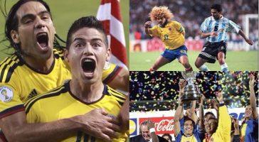 8 veces en que la Selección ha paralizado a Colombia. ¡Momentos de mucha emoción!