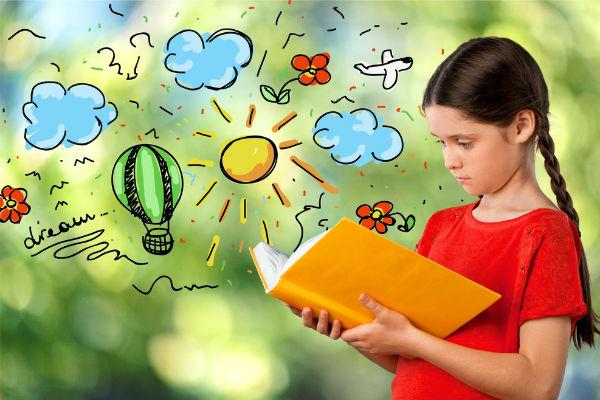 niña-leer
