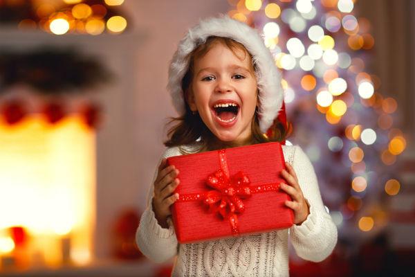 niña-regalo
