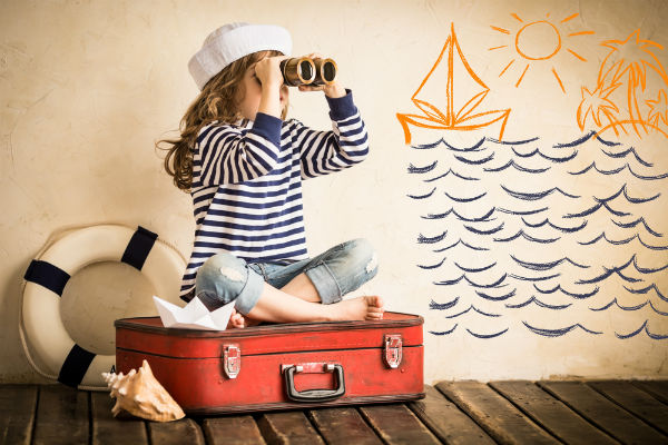 niña-viaje