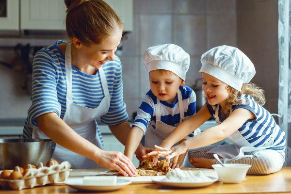 Intenten preparar juntos una receta nueva