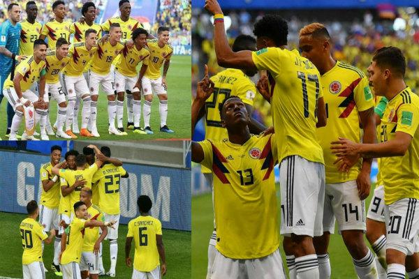 Lo soñamos y se hizo realidad: Colombia clasifica a octavos del Mundial. ¡Gracias muchachos!
