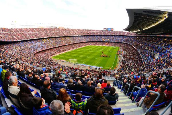 Los templos de los más grandes del fútbol