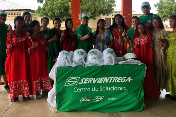 Una nueva entrega de amor se realizó en la Guajira ¡Por un futuro feliz y sostenible!